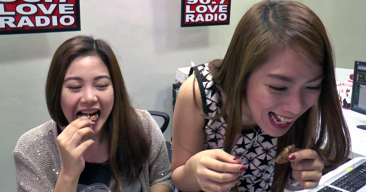 Citaten Love Radio : Ninja moves sa food love radio manila
