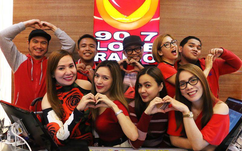 Citaten Love Radio : Happy nd anniversary sa atin mga kabisyo love radio